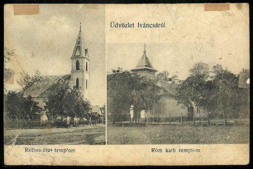 Iváncsa Református templom. Római katolikus templom