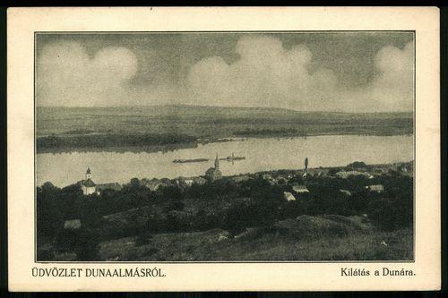 Dunaalmás Kilátás a Dunára