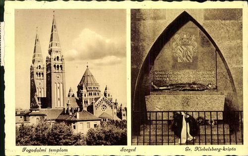 Szeged. Fogadalmi templom; Gr. Klebelsberg-kripta | Képcsarnok | Hungaricana