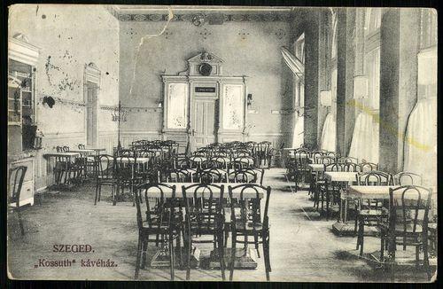 Szeged Kossuth kávéház