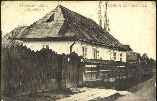 Üdvözlet Marosfelfaluból; Szabolcska Mihály nyári otthona