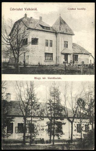 Valkó Cukor kastély. Magyar királyi főerdészlak