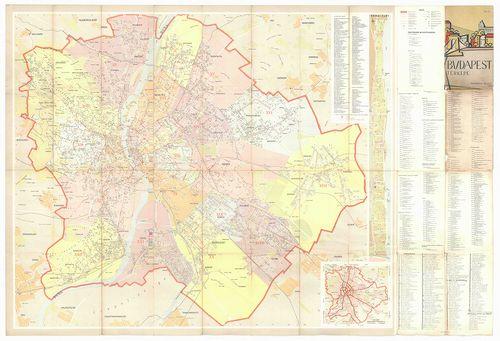 budapest térkép 1960 Találatok (HIER=(BFLTerkeptarHierarchy 6)) | Térképek | Hungaricana budapest térkép 1960