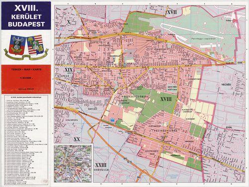 xviii kerület térkép Találatok (FORR=(