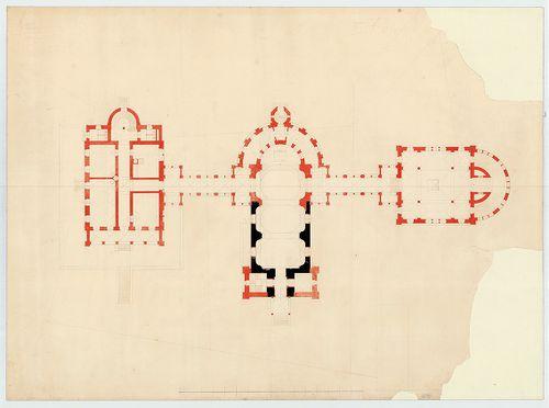 Római katolikus templom és plébánia. A templomegyüttes másod... [HU BFL - XV.17.f.331.b - 4/15]