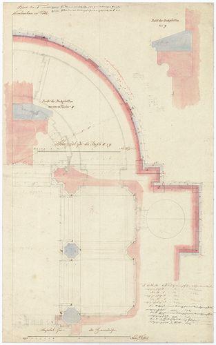 Római katolikus templom és plébánia. Alapozás, illetve kript... [HU BFL - XV.17.f.331.b - 4/19]