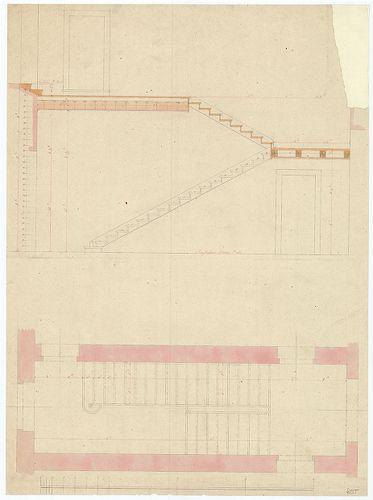 Római katolikus templom és plébánia. Faszerkezetű lépcső met... [HU BFL - XV.17.f.331.b - 4/255]