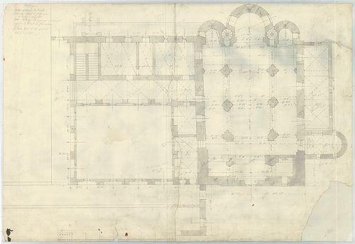 Római katolikus templom és mauzóleum. A templom és a hozzá c... [HU BFL - XV.17.f.331.b - 5/1]