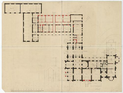 Zichy Pál gróf kastélya (Anna-vár). A bővített épületegyütte... [HU BFL - XV.17.f.331.b - 14/25]