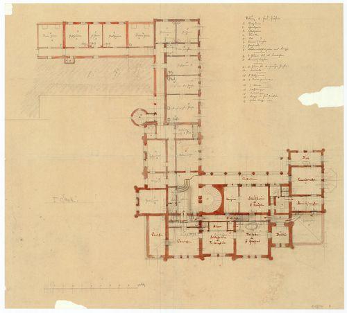 Zichy Pál gróf kastélya (Anna-vár). A bővített épületegyütte... [HU BFL - XV.17.f.331.b - 14/27]