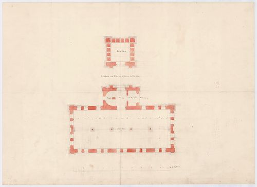 Wenckheim-magtár. Magtár, végleges változat. [HU BFL - XV.17.f.331.b - 15/4]