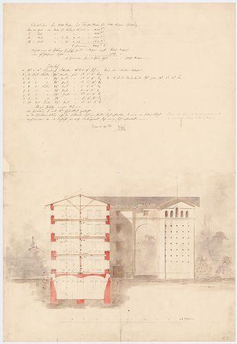 Wenckheim-magtár. Magtár, végleges változat. [HU BFL - XV.17.f.331.b - 15/5]