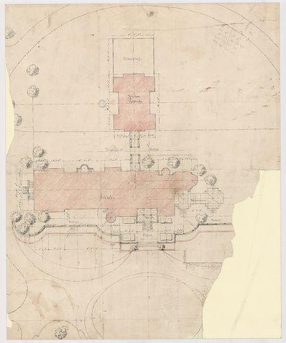 Wenckheim Frigyes gróf kastélya. A kastély és a hozzá csatla... [HU BFL - XV.17.f.331.b - 20/14]