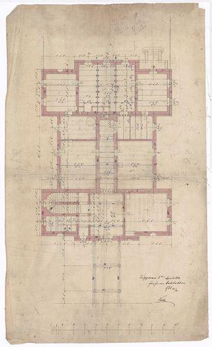 Wenckheim Frigyes gróf kastélya. Konyhaépület földszinti ala... [HU BFL - XV.17.f.331.b - 20/16]