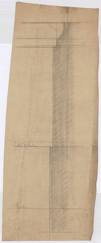 Károlyi-kastély. Kőlábazat. [HU BFL - XV.17.f.331.b - 21/10]