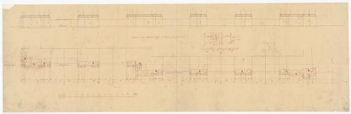 Dlauchy Károly háza. Lábazati részlet a Vámház körúton. [HU BFL - XV.17.f.331.b - 43/7]