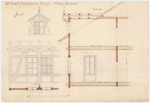 Erzsébet sósfürdő. Földszinti és első emeleti ablakok. [HU BFL - XV.17.f.331.b - 46/3]