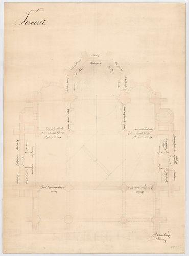 Ferencvárosi római katolikus plébániatemplom. Kereszthajó és... [HU BFL - XV.17.f.331.b - 47/7]