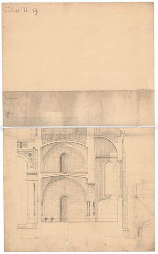 Ferencvárosi római katolikus plébániatemplom. A sekrestyén á... [HU BFL - XV.17.f.331.b - 47/10]