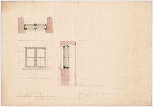 Fölsinger Rezső háza. Ablaktervek. [HU BFL - XV.17.f.331.b - 52/12]