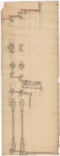 Fölsinger Rezső háza. Asztalosszerkezeti csomópontok. [HU BFL - XV.17.f.331.b - 52/14]