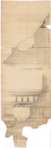 Fölsinger Rezső háza. Kőfaragási részletek és a főpárkány me... [HU BFL - XV.17.f.331.b - 52/15]