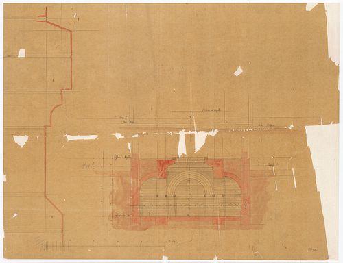Ganz Ábrahám síremléke. A sírkápolna alatti kripta. [HU BFL - XV.17.f.331.b - 54/11]