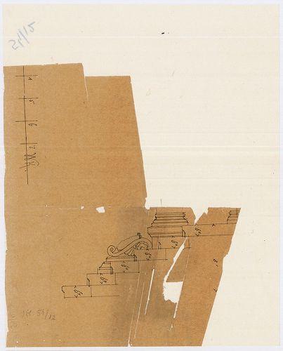 Ganz Ábrahám síremléke. Bejárati lépcső. [HU BFL - XV.17.f.331.b - 54/12]