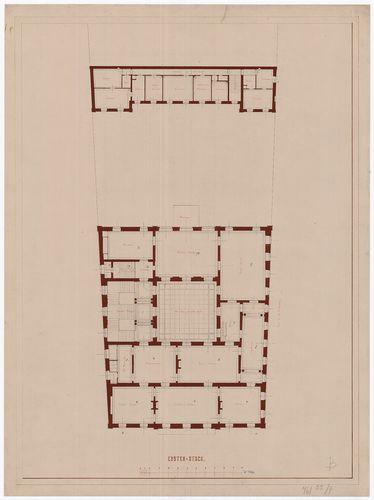 Károlyi Alajos (Károlyi Lajos) gróf palotája. Első emeleti a... [HU BFL - XV.17.f.331.b - 55/7]