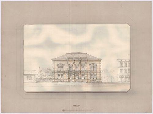 Károlyi Alajos (Károlyi Lajos) gróf palotája. Puskin utcai h... [HU BFL - XV.17.f.331.b - 55/9a]