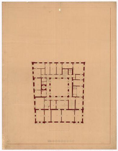 Károlyi Alajos (Károlyi Lajos) gróf palotája. Első emeleti a... [HU BFL - XV.17.f.331.b - 55/11]