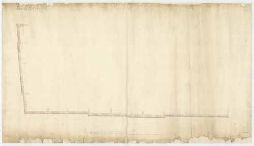 Károlyi György gróf palotabérháza. Homlokzati falban végigfu... [HU BFL - XV.17.f.331.b - 57/14]