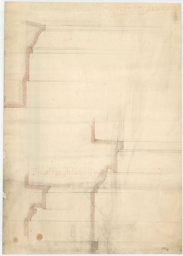 Károlyi György gróf palotabérháza. Felső és alsó ablakpárkán... [HU BFL - XV.17.f.331.b - 57/19]