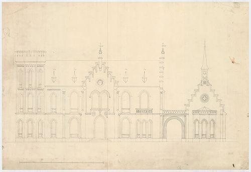 Wenckheim Béla báró kastélya. A kastély homlokzata. [HU BFL - XV.17.f.331.b - 62/2]
