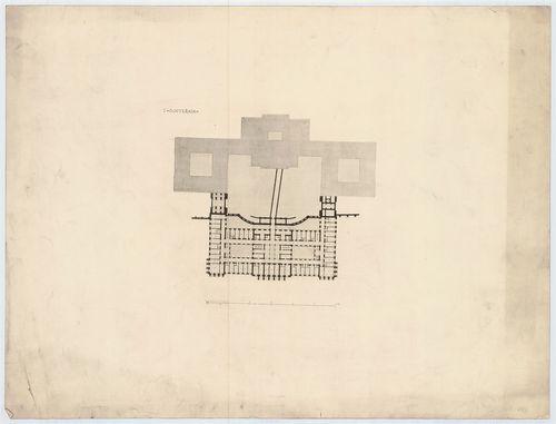 Királyi palota. Krisztinavárosi szárny, első pinceszinti ala... [HU BFL - XV.17.f.331.b - 64/3]