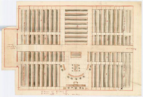 Régi Képviselőház. Ülésterem első (1866) átalakításának egyi... [HU BFL - XV.17.f.331.b - 65/6]