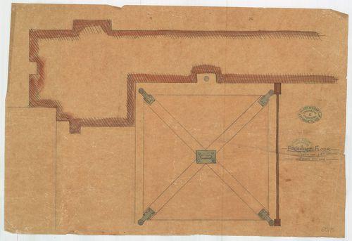 Régi Képviselőház. Alaprajzrészlet a lifthez. [HU BFL - XV.17.f.331.b - 65/15]