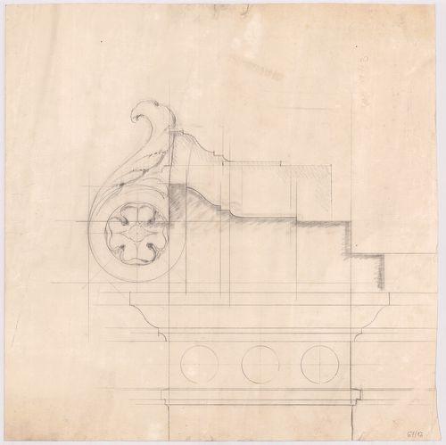 Kreische Antal bérháza. Díszítő tagozat részletrajza. [HU BFL - XV.17.f.331.b - 67/16]