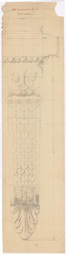 Kreische Antal bérháza. Erkély díszítő tagozatainak részletr... [HU BFL - XV.17.f.331.b - 67/17]