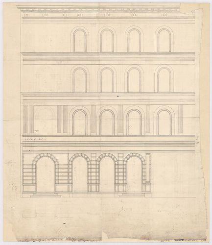 Leitner-bérház. Homlokzati részlet. [HU BFL - XV.17.f.331.b - 69/6]