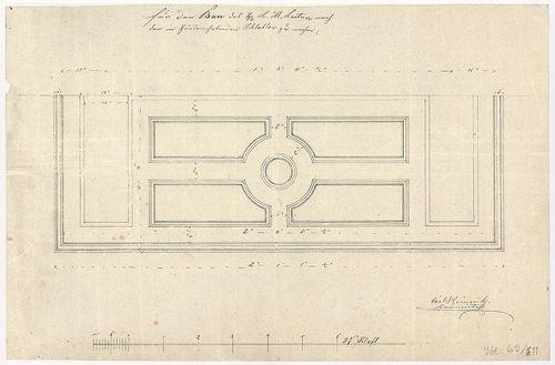 Leitner-bérház. Erkélylemez alulnézete. [HU BFL - XV.17.f.331.b - 69/11]
