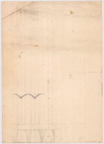 Leitner-bérház. Kőfaragási részletrajz. [HU BFL - XV.17.f.331.b - 69/20]