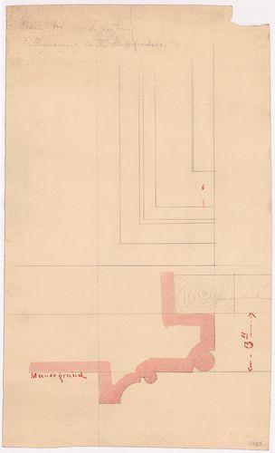 Leitner-bérház. Második emeleti ablak részlete. [HU BFL - XV.17.f.331.b - 69/23]