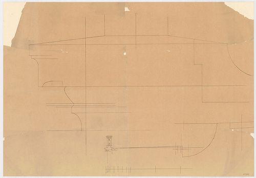 Leitner-bérház. Párkánymetszet, és metszet részlete. [HU BFL - XV.17.f.331.b - 69/32]