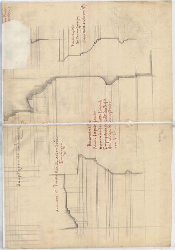 Wechselmann Ignác villája. Földszinti előcsarnok részlete. [HU BFL - XV.17.f.331.b - 121/6]