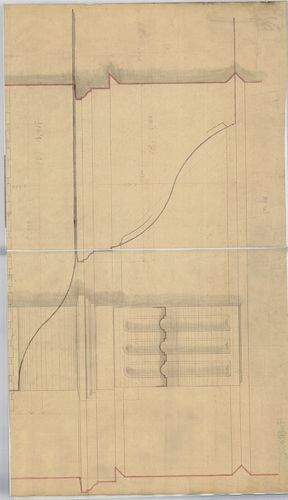 Ybl Miklós bérházai. Terasz részletterve. [HU BFL - XV.17.f.331.b - 135/1]