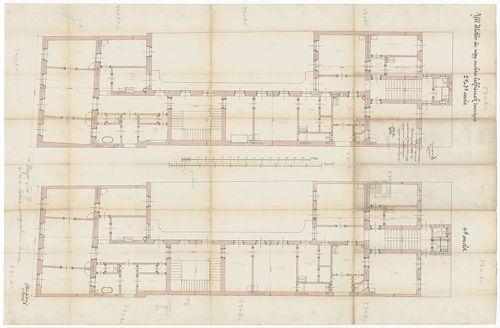 Ybl Miklós bérházai. Második, harmadik, negyedik emeleti ala... [HU BFL - XV.17.f.331.b - 135/5]