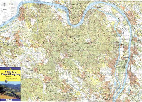 pilis térkép Pilis Visegrádi hegység. [turistatérkép] [B XV c 1137]   Térképek