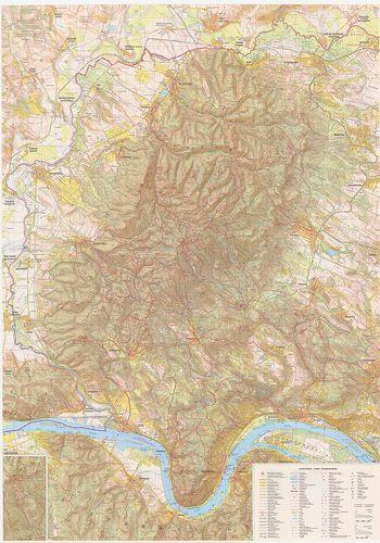 börzsöny térkép A Börzsöny turistatérképe. [B XV c 1168]   Térképek   Hungaricana