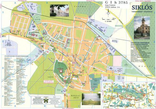 siklós térkép részletes Találatok (HIER=(HTIHierarchy 304))   Térképek   Hungaricana